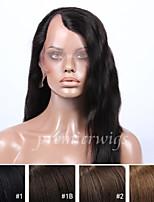 Недорогие -Натуральные волосы U-образный Парик Бразильские волосы Прямой Парик 130% Плотность волос с детскими волосами Природные волосы Парик в афро-американском стиле 100% ручная работа Жен. Средние
