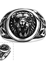 cheap -Men's Statement Ring Jewelry Stainless Steel Fashion Daily Costume Jewelry