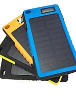 banca di potere della batteria esterna 5V 2.0A #A Caricabatteria Torcia Ricarica ad energia solare A prova di sporco Antiurto Resistente