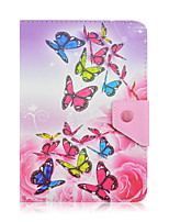 cheap -SZKINSTON Dazzling Butterfly Case Cover Shockproof with Stand Magnetic Pattern Full Body PU Leather For All 9.5 - 10.5 Inch Mobile Phone or Tablet