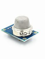 fc-22 un module de capteur de gaz MQ-2 combustible pour gaz liquéfié / propane - bleu + argent