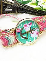 Недорогие -Жен. Модные часы Кварцевый Аналоговый 7 # 8 # 9 # / Нержавеющая сталь