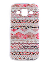 cheap -For Samsung Galaxy Case Pattern Case Back Cover Case Geometric Pattern TPU Samsung Grand Prime / Core Prime / Alpha