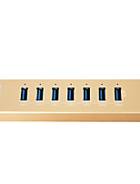 Недорогие -maiwo kh207 USB3.0 7port USB HUB с 1 смарт-зарядного устройства