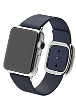 abordables -Ver Banda para Apple Watch Series 3 / 2 / 1 Apple Correa de Muñeca Hebilla Moderna Piel