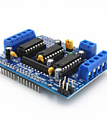 L293D Motor Control Shield Motor Drive Expansion Board for Arduino – Blue