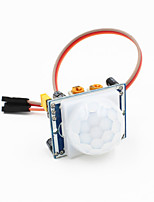 Pyroelectric Infrared PIR Motion Sensor Detector Module w/ 3-pin Cable for Arduino - Blue + White
