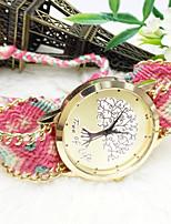 Недорогие -Жен. Модные часы Кварцевый Аналоговый 8 # 9 # 10 # / Нержавеющая сталь