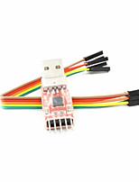 CP2102 USB a convertitore seriale UART TTL modulo usb - rosso + nero + argento