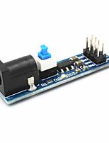 ams1117 module d'alimentation de 5V w / switch - bleu + noir (6,5 ~ 12v)