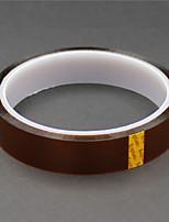 alta temperatura kapton resistente fita poliimida - tan (18 mm x 30m)