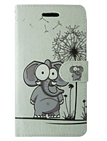 cheap -Case For Apple iPhone 5 Case Card Holder Wallet with Stand Flip Full Body Cases Dandelion Cartoon Hard PU Leather for iPhone SE/5s