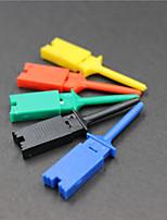 lógica clipe de teste analisador - -red-amarelo verde -blue- preto (5 pcs)