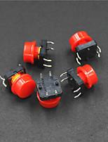 le contrôle de l'alimentation électrique à 4 broches bouton poussoir swit (5pcs)