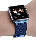 economico -Cinturino per orologio  per Apple Watch Series 3 / 2 / 1 Apple Custodia con cinturino a strappo Cinturino a maglia milanese Acciaio