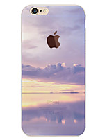 economico -Custodia Per Apple iPhone 6 iPhone 6 Plus Fantasia/disegno Per retro Cielo Paesaggi Morbido TPU per iPhone 6s Plus iPhone 6s iPhone 6