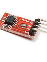 at24c256 Module i2c de stockage de mémoire EEPROM pour la voiture intelligente - rouge + noir