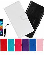 cheap -Case For iPhone 5C / Apple Full Body Cases Hard PU Leather for iPhone 5c