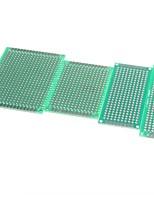 4pcs 5x7 4x6 3x7 2x8 cm à double cuivre de la face prototype PCB de la carte universelle pour Arduino