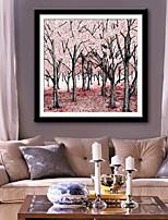 preiswerte -Botanisch Blumenmuster/Botanisch Freizeit Gerahmtes Leinenbild Gerahmtes Set Wandkunst,PVC Stoff Mit Feld For Haus Dekoration Rand Kunst