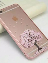 Under A Cherry Tree Full of Acrylic Transparent Wrapping Soft Cases For iPhone 6s 6 Plus SE 5s 5