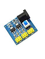 multiple-sortie du module de convertisseur de tension continu-continu / 12V tourner 3.3 / 5 / 12v module de puissance - bleu