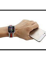 Недорогие -Ремешок для часов для Apple Watch Series 3 / 2 / 1 Apple Повязка на запястье Классическая застежка Нейлон