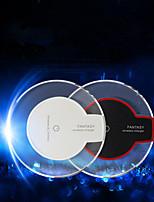 novo carregador transparente qi wireless cobrando transmissor carregamento para iphone i6 / i6plus / I5S samsung S6 / S6 edge / HTC