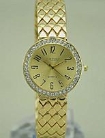 Недорогие -Жен. Модные часы Кварцевый Золотистый Аналоговый Золотой