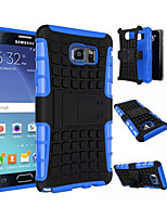 cheap -2 in 1 Dual-color Detachable PC+TPU Hybrid Case with Kickstand for Samsung Galaxy Note 3/Note 4/Note 5/Note 5 Edge