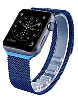 Недорогие -Миланская петля для часов яблока 38 мм 42 мм нержавеющая сталь замена ремешка для часов