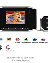 3.5 Inch High Definition Digital Peephole Viewer Door Bell Video Recording & Photo