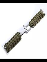 abordables -Bracelet de Montre  pour Apple Watch Series 3 / 2 / 1 Apple Sangle de Poignet Boucle Moderne Tissu