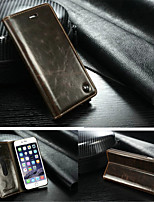 cheap -Case For iPhone 6s Plus iPhone 6 Plus Apple iPhone X iPhone X iPhone 8 iPhone 6 Plus Full Body Cases Hard Genuine Leather for iPhone X