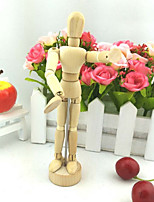 cheap -5.5 Inch Joints Wood Children Wooden Mannequin Toy Home Decoration Model