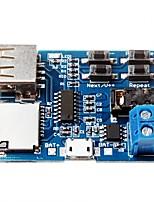 amplificateur formatage de la carte tf module de mp3 u disque de carte de décodeur décoder lecteur audio