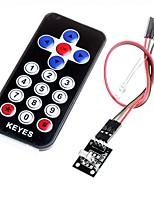 hx1838 infrarossi codice del modulo di telecomando telecomando a infrarossi per arduino