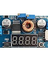 DC LED 5A conduire chargeur de batterie lithium avec un voltmètre ampèremètre module DC-DC