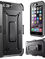 abordables -Funda Para iPhone 6s Plus iPhone 6 Plus Apple iPhone 6 Plus Funda de Cuerpo Entero Suave TPU para
