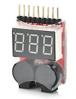 Batterie lipo basse tension buzzer 2-en-1 1 ~ 8s pour hélicoptère rc