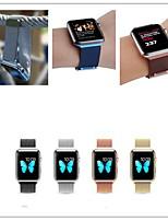 Недорогие -Ремешок для часов для Apple Watch Series 3 / 2 / 1 Apple Повязка на запястье Миланский ремешок Металл