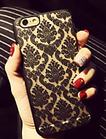 preiswerte -Hülle Für Apple iPhone 6 iPhone 6 Plus Ultra dünn Rückseite Lace Printing Hart PC für iPhone 6s Plus iPhone 6s iPhone 6 Plus iPhone 6