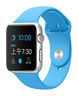 cheap -Sport Band For Apple Watch 3 38mm 42mm Silicone Replacent Watch Band