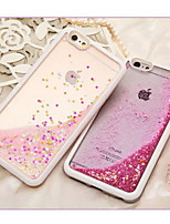 abordables -Coque Pour Apple iPhone 6 Plus / iPhone 6 Liquide Coque Brillant Flexible TPU pour iPhone 6s Plus / iPhone 6s / iPhone 6 Plus