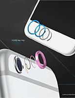 di alta qualità tasto home metallo copertura dell'anello di protezione del cerchio in lega di alluminio + guardia copriobiettivo della