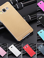cheap -DF Luxury High Quality Solid Color Brushed Aluminium Hard Case for Samsung Galaxy A3
