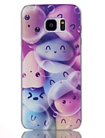 For Samsung Galaxy S7 Edge Pattern Case Back Cover Case Cartoon PC Samsung S7 edge plus / S7 edge / S7