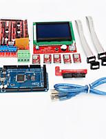 rampas controlador Impressora 3D 1.4 + mega2560 R3 + 5 x a4988 + lcd12864 placa controladora para impressora 3D
