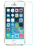 cheap -Rounded Edge Transparent 9h Toughened Glass Screen Protector for iPhone5/5s /5C