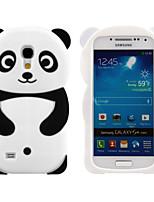 Pour Samsung Galaxy Coque Motif Coque Coque Arrière Coque Dessin Animé 3D Silicone pour Samsung S4 Mini S3 Mini